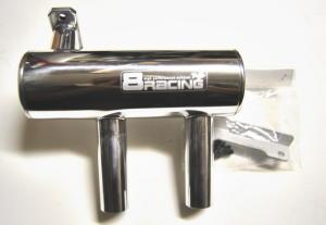 8Racing Barilotto doppia uscita per DA50/DLE55/ZDZ50/3W60