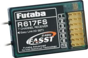 Futaba -  RX R617FS 2.4 Ghz FASST 7CH