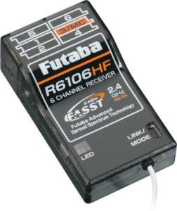 Futaba - RX R6106 HFC 2.4 Ghz FASST 6CH Park Flyer