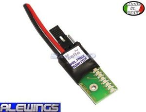 Alewings Voltage Monitor LiPoli