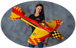 GB-Models Yak 55m 1.4 mt. yellow/red/black