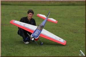 GB-Models Yak 55m 1.8 mt. white/red/blu