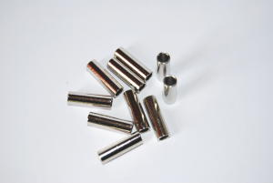 Barilottini ø 3,5 mm. per cavo trecciato - 10 pz.