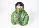 Pilotino JET verde 76mm