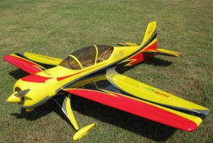 Sebart SUKHOI 29S 50E V2 NEW - yellow/black