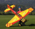 GB-Models Yak 55m 2.20 mt. yellow/red/black