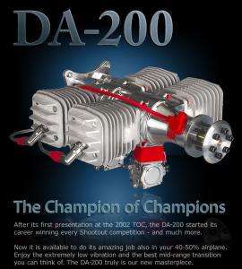 Desert Aircraft DA 200