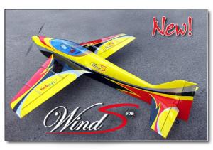Sebart WIND S 50E GLOW giallo/nero