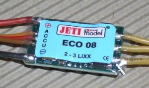 JETI ECO 8A brushless controller