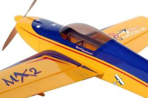 GB-Models MX2 yellow/blue 132cm