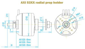 AXI 5325/24 GOLD LINE
