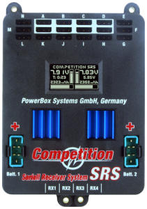 PowerBox COMPETITION SRS + SENSORSWITCH - NEW