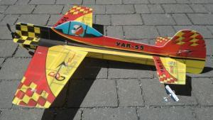 GB-Models Yak 55M Indoor Bruckmann (verniciato)