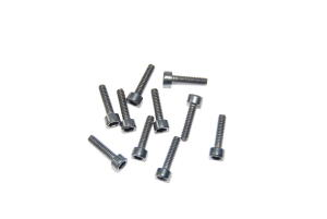 Viti di acciaio a brugola M2.5x10 - 10 pz.