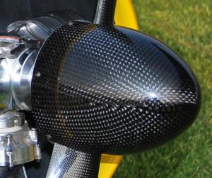 """Ogiva 115 mm. Carbonio mod. YAK 4.5"""""""