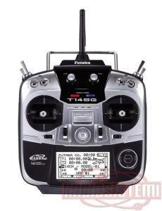 Futaba TX 14 SG + RX R7008SB 2,4Ghz MODE 2