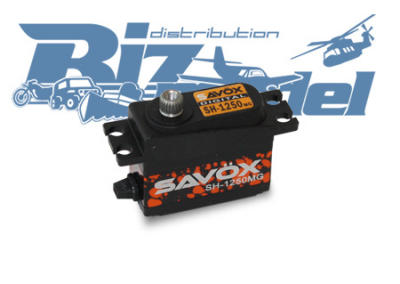 Savox mini servo SH-1250MG 4,6Kg 0,11sec/60° 6V