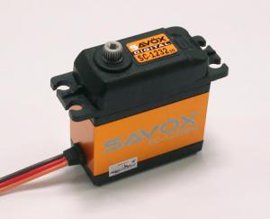 Savox servo SC-1232SG 22Kg 0,13sec/60° 6V