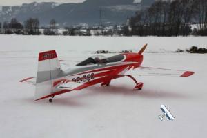 GB-Models  EXTRA 330SC 2,3m bianco/rosso