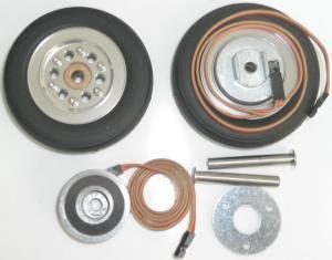 Xicoy Intairco ruote 76mm con freno elettrico