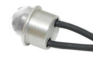 "OPTOTRONIX Luci di posizione ACL 11mm (0,43""in) rotonda bianca"