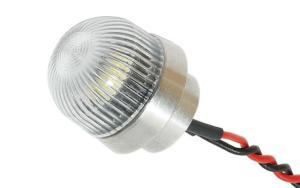 OPTOTRONIX Luci di posizione ACL 16mm (0,63in) rotonda bianca