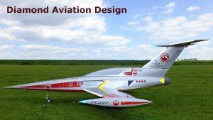 Aviation Design Jet  DIAMOND - grigio
