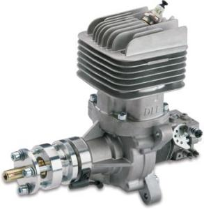 DLE 55RA  Gasoline  engine scarico posteriore