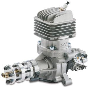 DLE 35RA  Gasoline  engine scarico posteriore