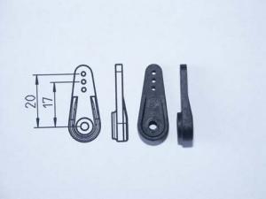 CFK Servo Arm TypA, 20mm, Hitec