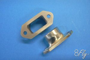 MTW Flangia ø 25mm per DLE 61/120