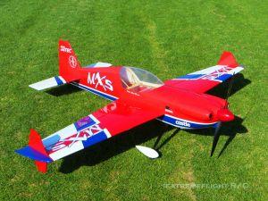 "Extreme Flight 78"" MXS-EXP ARF GP RED"