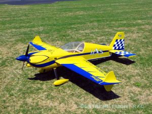 "Extreme Flight 78"" MXS-EXP ARF GP Yellow"