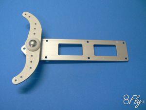 Rudder 2 Tray 120 mm