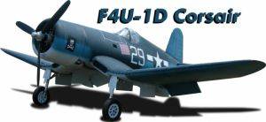 CARF F4U-1D Corsair 2,8m All Silver