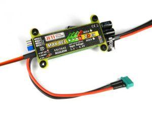 JETI MAX BEC 2D Plus EX 5-6V/20A con interruttore magnetico