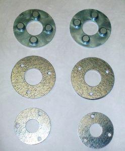 Spare brake disks