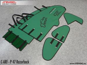 REVOC  set di CUSTODIE per P-47 Razorback CARF 2,8mt