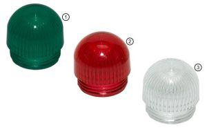 "OPTOTRONIX Cover Cap ""XL"" 16mm (0.63in) rotonda bianca"