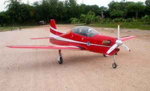 CARF Embraer T-27 Tucano 2.8mt All Grey