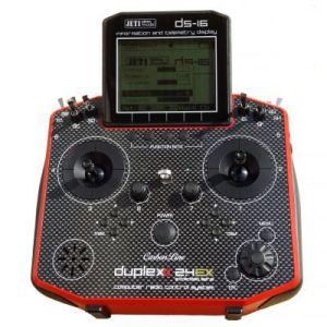 Jeti Radiocomando DS-16 Carbon Line 16ch (V4.0 24ch) rossa