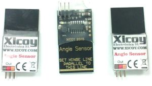 Xicoy Angle sensors for CG meter