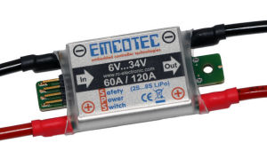 Emcotec SPS SafetyPowerSwitch 34V 60/120A