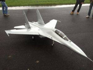 CARF Sukhoi SU-27/SU-30  2.20mt All Silver