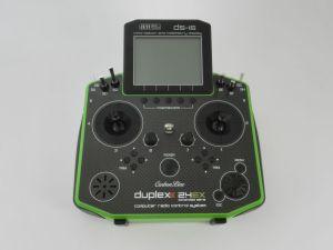 Jeti Radiocomando DS-16 Carbon Line 16ch Green Edition