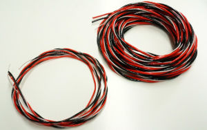 Emcotec Premium² servo connection cable twisted, 16.4ft.