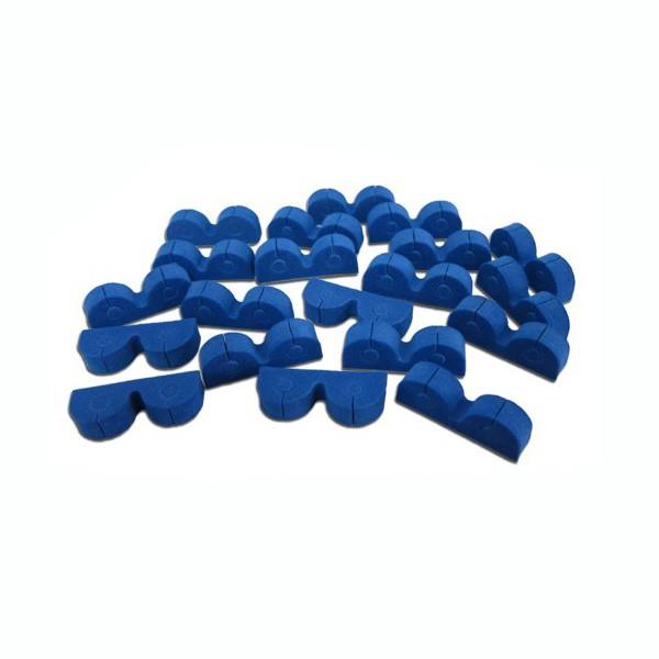 Fermacavi adesivi da 6mm in spugna rigida 20pz