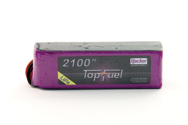 Hacker Life TopFuel 2100mA 2S 30C