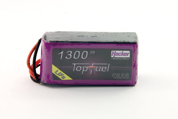 Hacker Life TopFuel 1300mAh 2S 30C