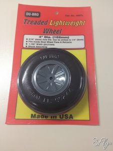 102mm Light Wheels - DuBro 400TL